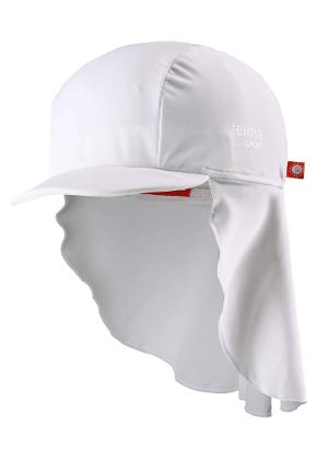 Barn uv-hatt Vesikko White
