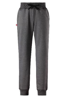 Kids' sweatpants Talma Dark melange grey