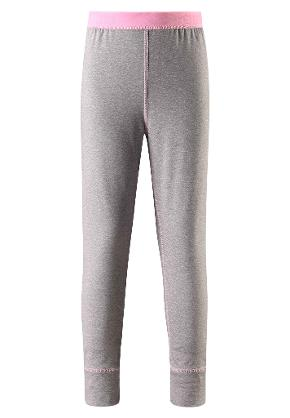 Kinder Leggings Filz Melange grey