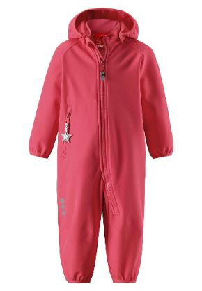 Softshell overall, Kotilo Bright red Bright red