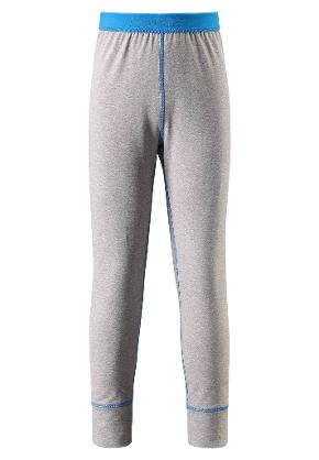 Juniors' base layer leggings Filz Melange grey