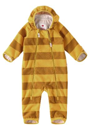 Baby vindfleeceoverall Tilhi Yellow