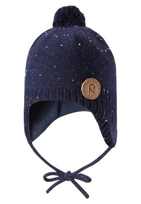 Toddlers' wool beanie Ylläs Navy