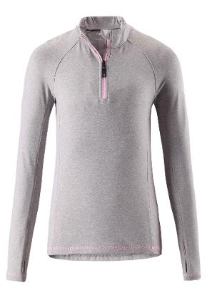 Juniors' base layer shirt Still Melange grey
