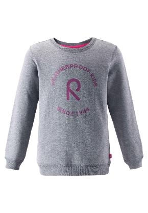 Juniors' sweater Hjelt Mid grey