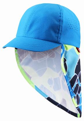 Toddlers' UV-hat Alytos Ocean blue