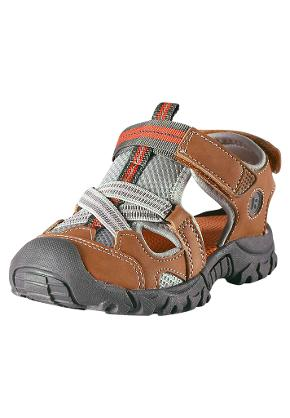 Kids' sandals Rigger Leather brown
