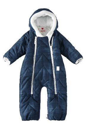 Babies' overall/sleeping bag Nalle Soft blue