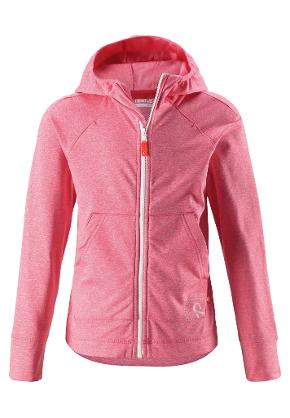 Kinder Kapuzenjacke Ruori Bright red