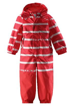 Reimatec® overall, Traffic Bright red Bright red