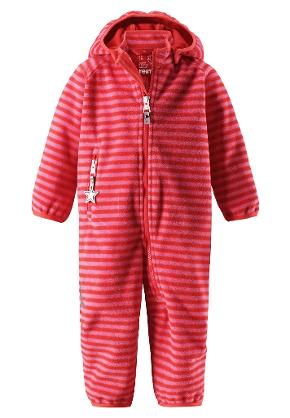 Windfleece overall, Vinssi Bright red Bright red