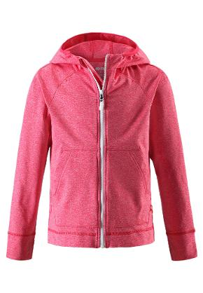 Juniors' hoodie Ruori Strawberry red