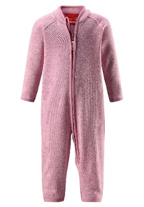 Kleinkinder Fleeceoverall Tahti Dusty rose