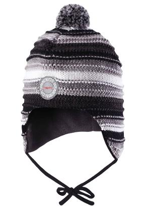 Toddlers' wool beanie Kumpu Melange grey