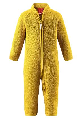 Barn fleeceoverall Tahti Yellow