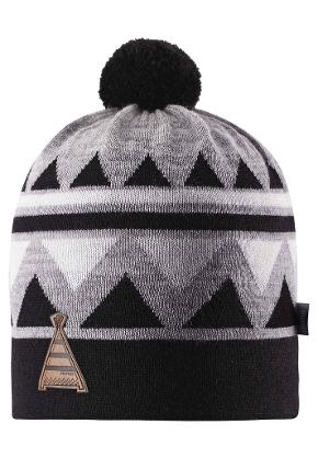 Kids' wool beanie Latsa Black