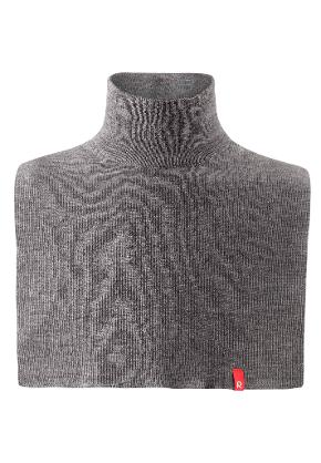 Kids' wool neckwarmer Star Mid grey