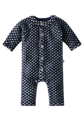 Babies' overall Lyhde Navy