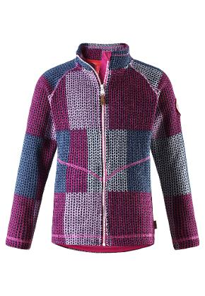 Juniors' fleece sweater Meadow Pink